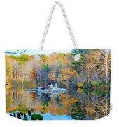 Peak Autumn Reflection 6 Weekender Tote Bag