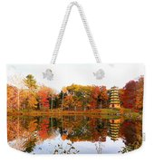Peak Autumn Reflection 7 Weekender Tote Bag