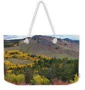 Peak To Peak Highway Boulder County Colorado Autumn View Weekender Tote Bag