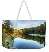 Peaks Of Otter Reflection Weekender Tote Bag