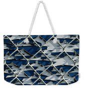 Pealing Paint Fence Abstract 1 Weekender Tote Bag