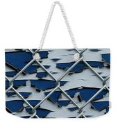 Pealing Paint Fence Abstract 2 Weekender Tote Bag