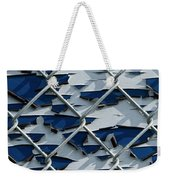 Pealing Paint Fence Abstract 3 Weekender Tote Bag