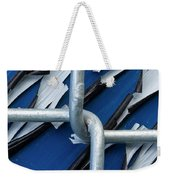 Pealing Paint Fence Abstract 5 Weekender Tote Bag