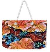 Peanies Flower Blossom Weekender Tote Bag