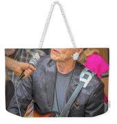 Peanut Montgomery Weekender Tote Bag