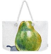 Pear Weekender Tote Bag