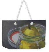 Pear Jam Weekender Tote Bag