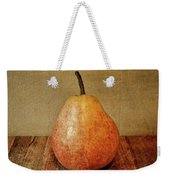Pear On Cutting Board 1.0 Weekender Tote Bag