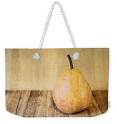 Pear On Cutting Board 2.0 Weekender Tote Bag