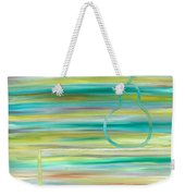 Pear On Table Weekender Tote Bag