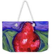 Pear Portrait Weekender Tote Bag