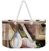 Pear Study In Watercolor Weekender Tote Bag