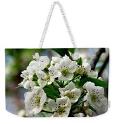 Pear Tree Blossoms 1 Weekender Tote Bag