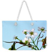 Pear Tree Blossoms 4 Weekender Tote Bag
