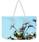Pear Tree Blossoms 5 Weekender Tote Bag