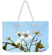 Pear Tree Blossoms 6 Weekender Tote Bag