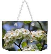 Pear Tree Blossoms Weekender Tote Bag