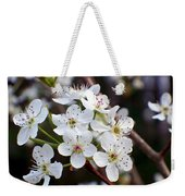 Pear Tree Blossoms II Weekender Tote Bag