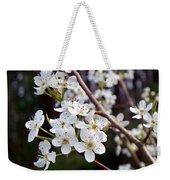 Pear Tree Blossoms IIi Weekender Tote Bag