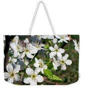 Pear Tree Blossoms Iv Weekender Tote Bag