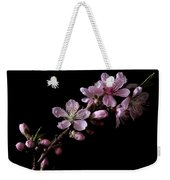 Peach Tree Blossum Weekender Tote Bag