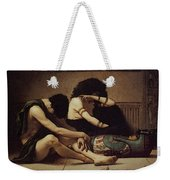 Pearce C S The Death Of The First Born Weekender Tote Bag