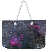 Pearl Cluster And Lambda Centauri Weekender Tote Bag