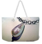 Pearl Weekender Tote Bag by Irina Sztukowski