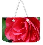Pearl Of Beauty - Red Camellia Weekender Tote Bag