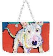 Pearl Weekender Tote Bag by Pat Saunders-White