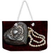 Pearls From The Heart Weekender Tote Bag