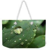 Pearls On Leaf 5 Weekender Tote Bag