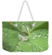 Pearls On Leaf Weekender Tote Bag