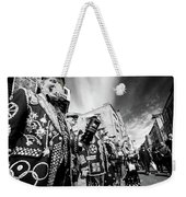 Pearly Kings And Queens Of London Hoxton Brick Lane Weekender Tote Bag