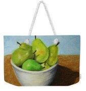 Pears In Bowl 2 Weekender Tote Bag