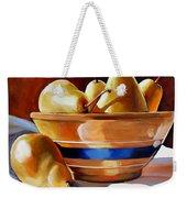 Pears In Yelloware Weekender Tote Bag