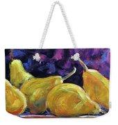 Pears Mioummmmmmmmmm Weekender Tote Bag