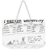 Pearson University Weekender Tote Bag