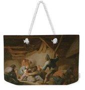 Peasant Brawl In A Tavern Weekender Tote Bag