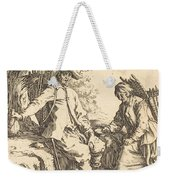 Peasant Couple At Rest Weekender Tote Bag