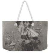 Peasant Woman Of The Campagna [ciociara] Weekender Tote Bag