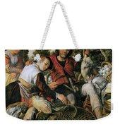 Peasants At The Market Weekender Tote Bag