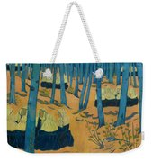 Peasants Gathered In A Sacred Wood_ Weekender Tote Bag