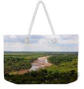 Pease On The River Weekender Tote Bag