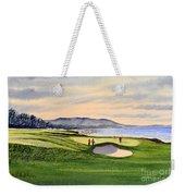 Pebble Beach Golf Course 9th Green Weekender Tote Bag