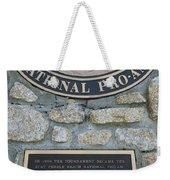 Pebble Beach National Pro-am I Weekender Tote Bag