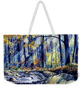 Pebble Creek Autumn Weekender Tote Bag