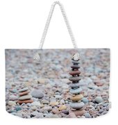 Pebble Stack II Weekender Tote Bag