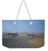 Pebble Strewn Beach Weekender Tote Bag